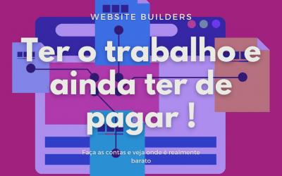 Usar website builders ou contratar profissionais?